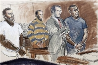 Court Sketch Of Bronx Radical Muslim Terrorists